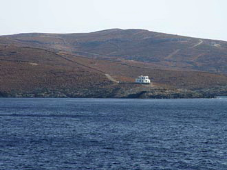 Lonely house at Kythnos