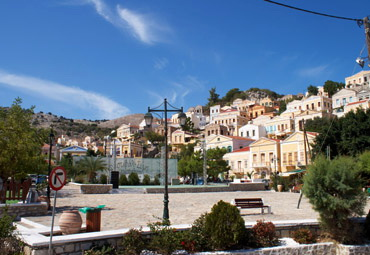 Yialos, the main square