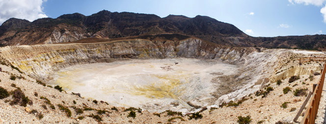 The crater Stefanos