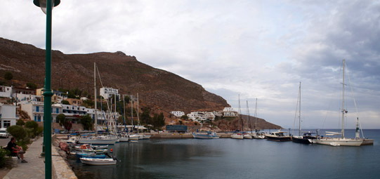 Livadia, the harbour