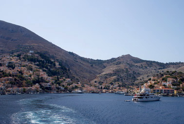 Symi, view from the sea