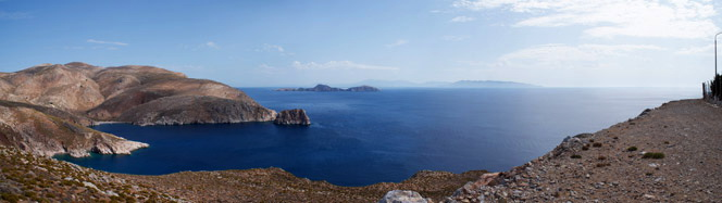 Tilos, view to the south
